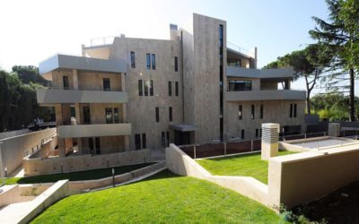 Complesso residenziale a Roma