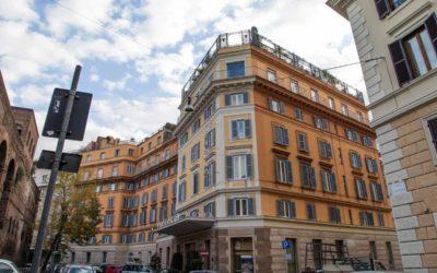 Ristrutturazione di un albergo storico romano